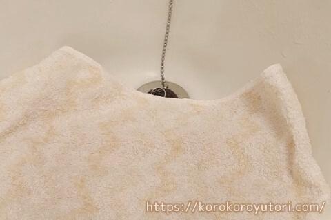 陶器割れ防止タオル